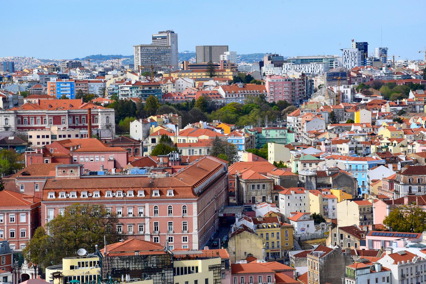 Lissabon bezienswaardigheden miradouro