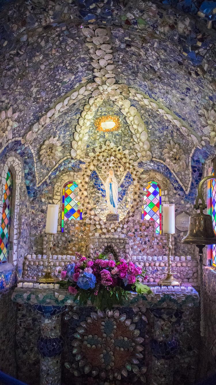 Little Chapel binnen guernsey