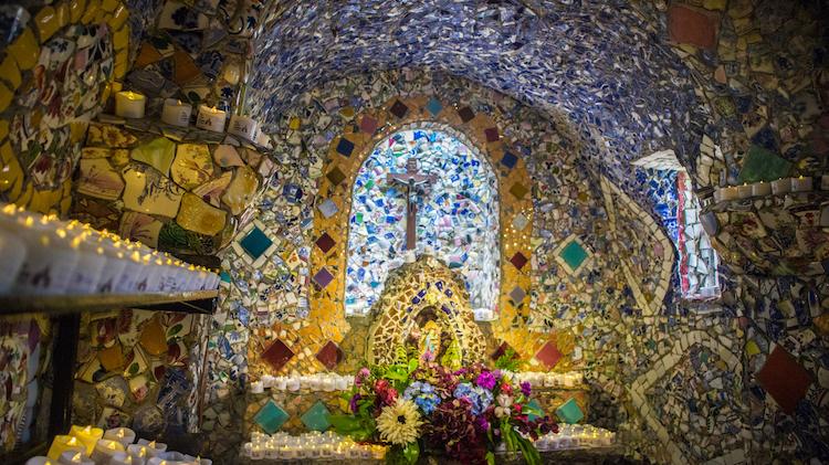 Little Chapel binnen in guersney