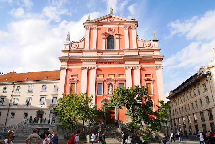Ljubljana stedentrip klooster