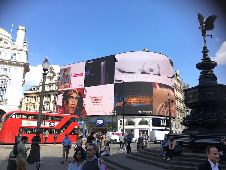 Harry Potter filmLocaties Picadilly Circus