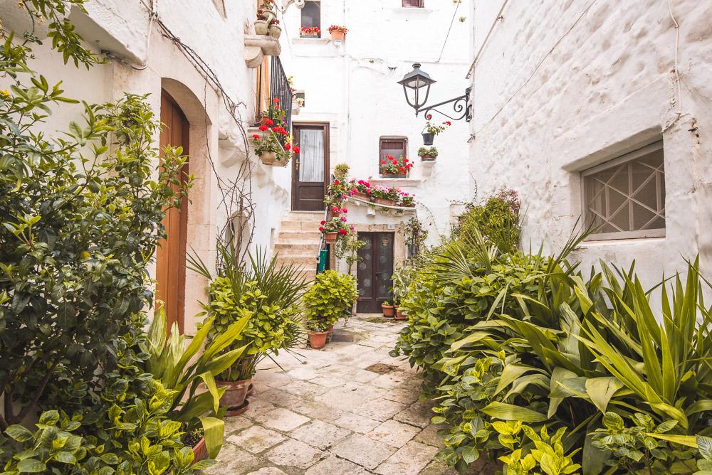 Locorotondo italie straatjes