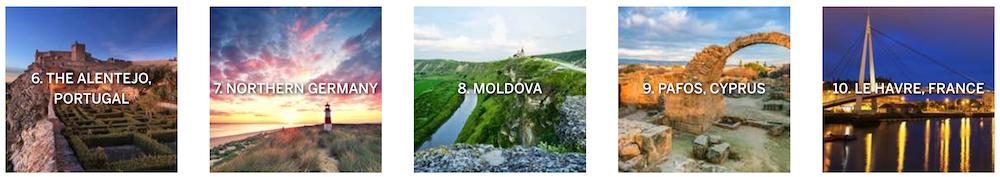 Lonely Planet best in travel europe 2017 deel 2