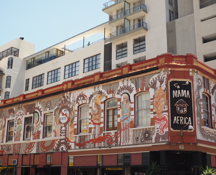 Longstreet Kaapstad Mama africa