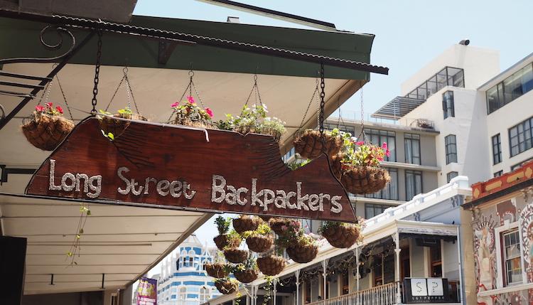 Longstreet kaapstad backpackers hostel