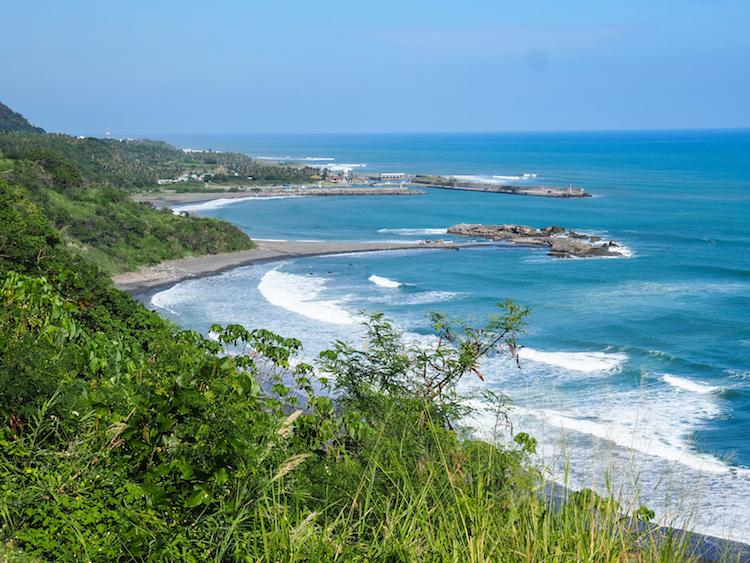 Lovers Beach viewpoint bij Donghe