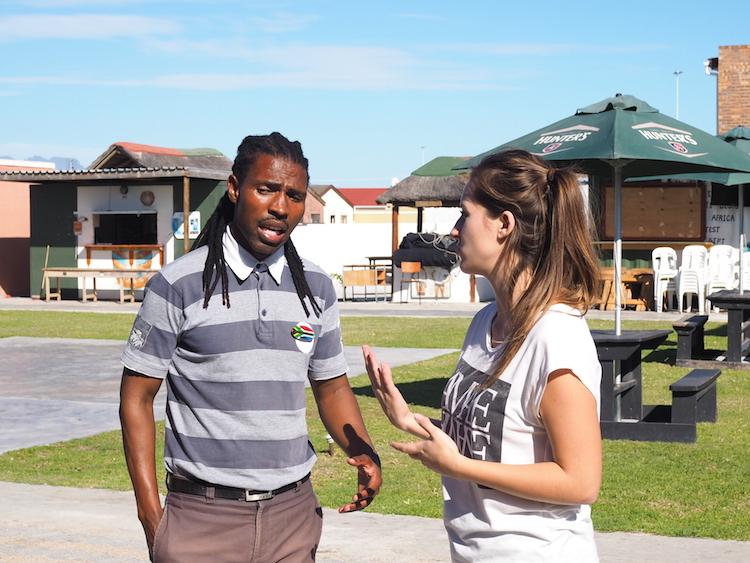 Loyiso township tour kaapstad