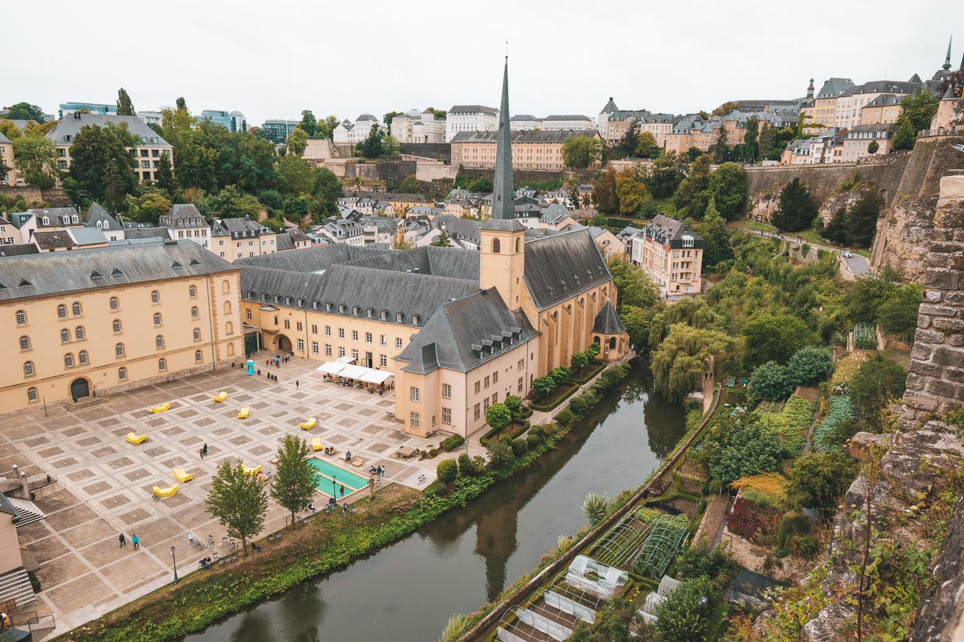 Luxemburg Stad Bezienswaardigheden