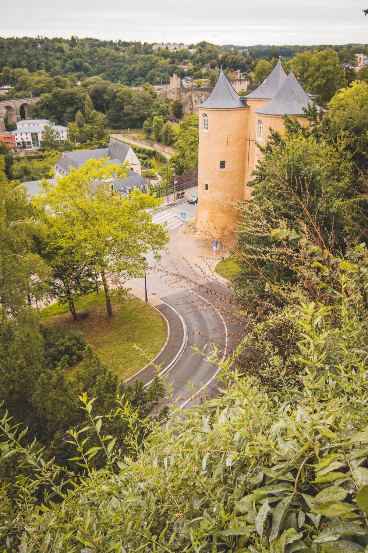 Luxemburg Stad straatjes
