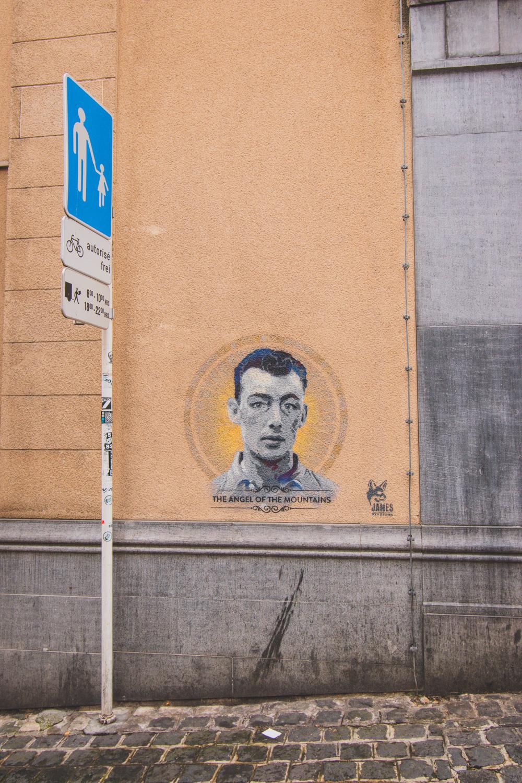 Luxemburg Stad streetart