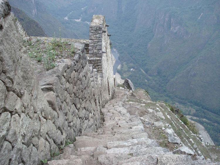 Machu Picchu looproute peru