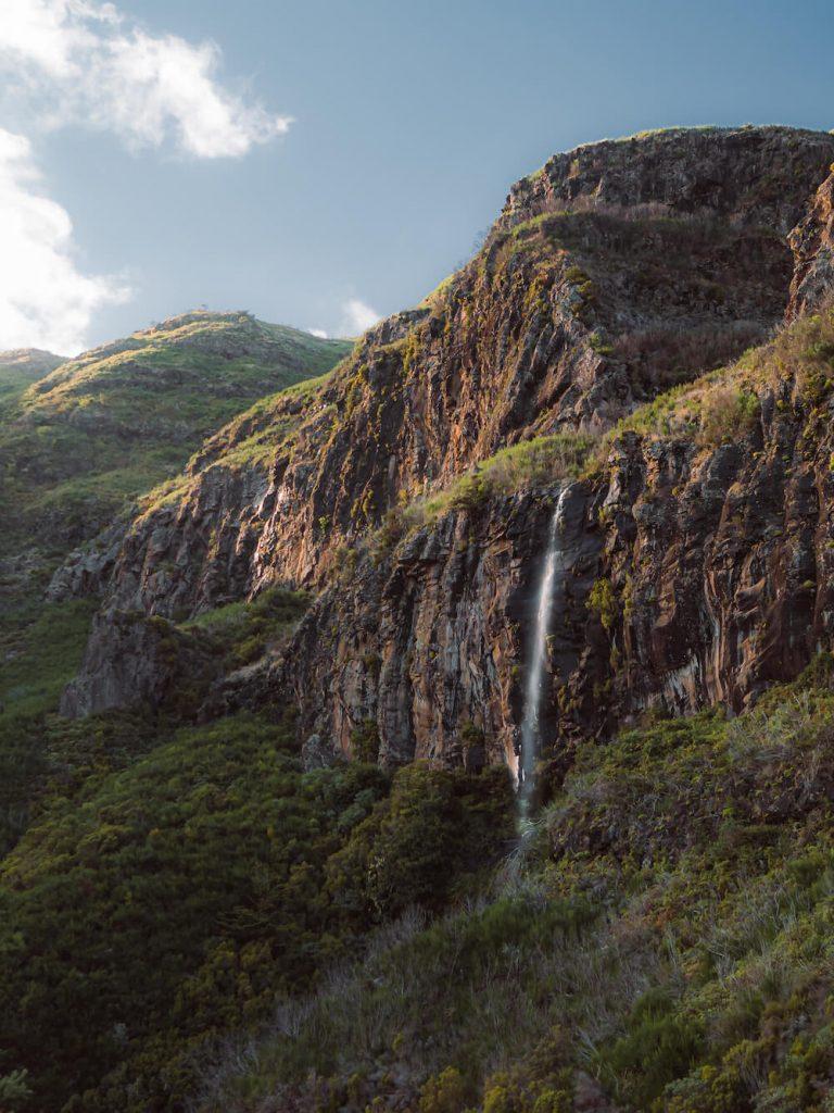 Madeira bezienswaardigheden waterval