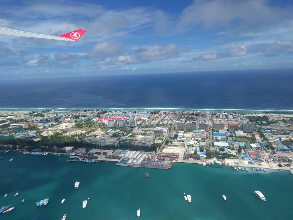Malediven backpacken Hulhumale