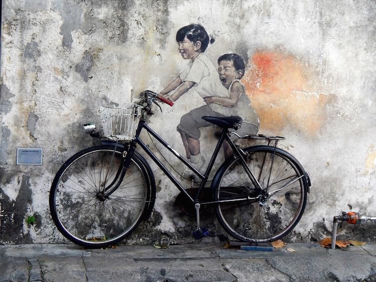 Maleisie backpacken route 3 weken streetart spotten georgetown