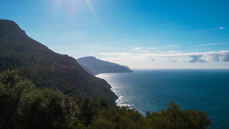 Mallorca natuur uitzicht oceaan