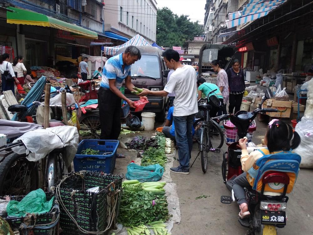 Markt Guangzhou in china