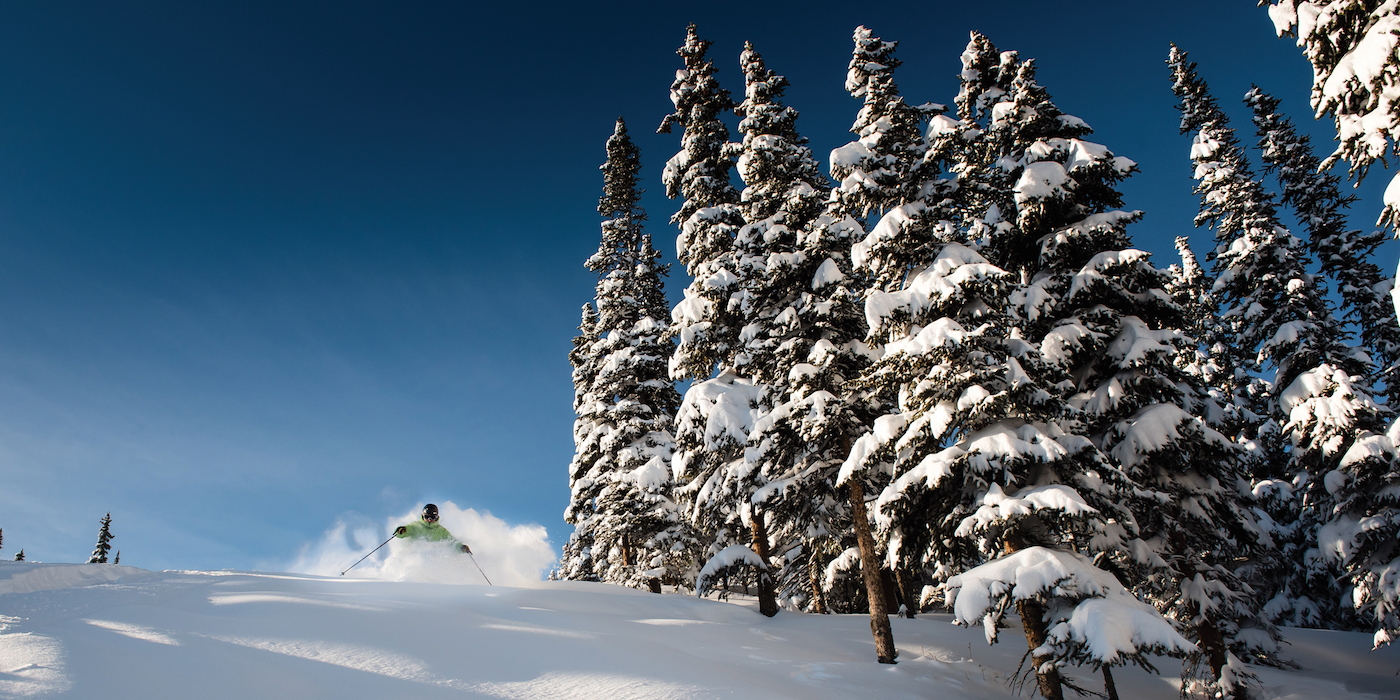 Marmot Basin skier wintersport canadian rockies