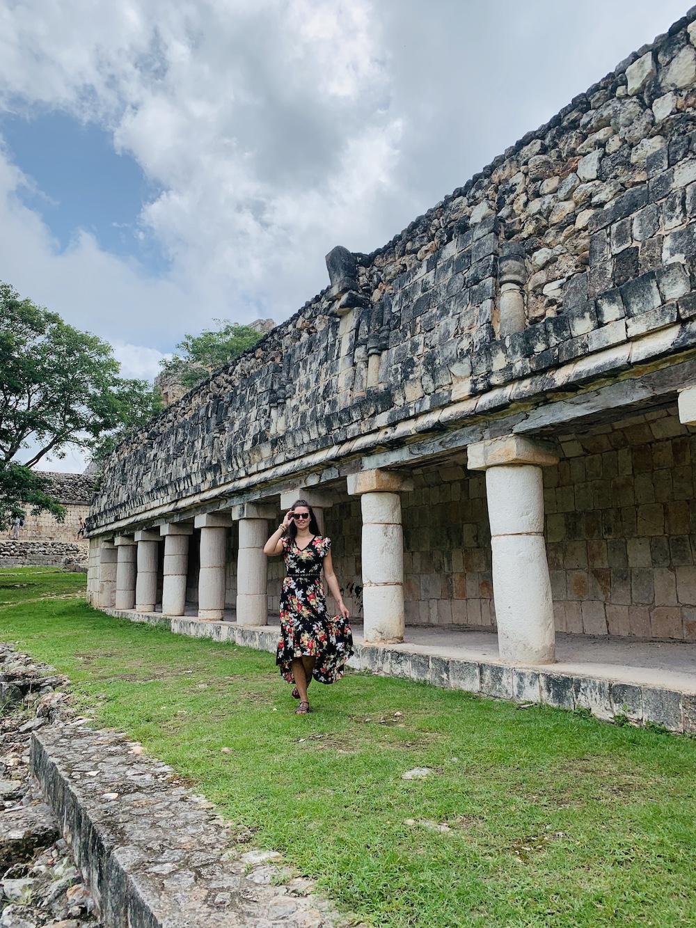 Maya's mexico uxmal tempel