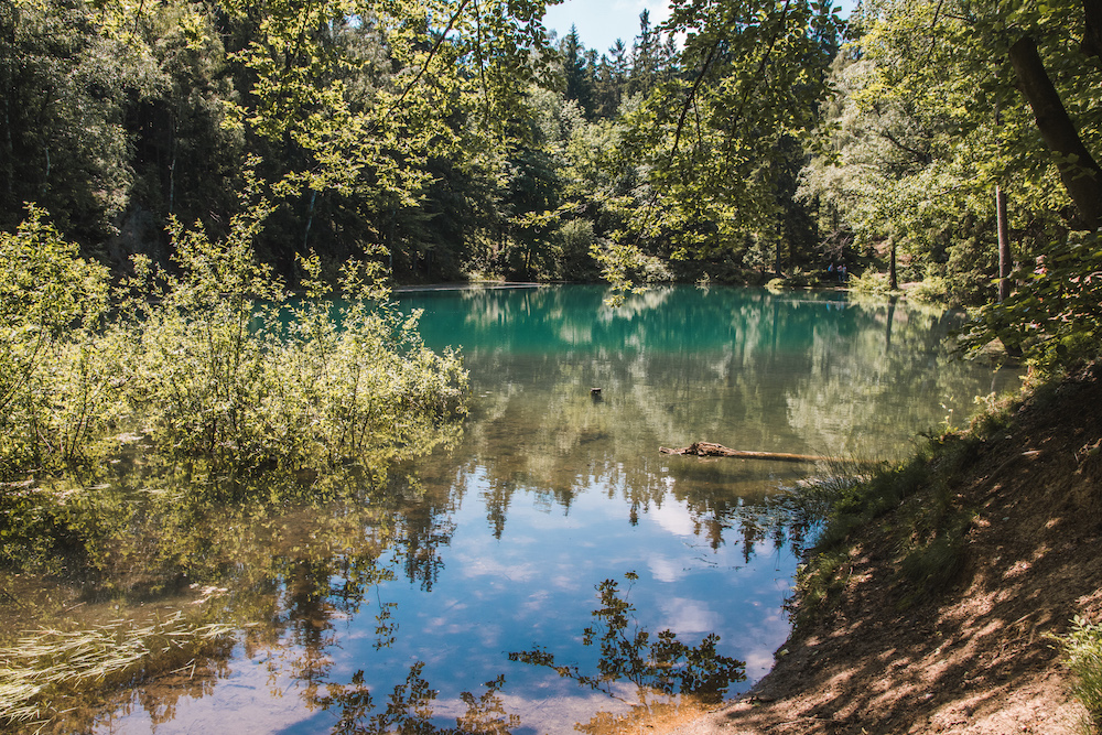 Meertjes in Kolorowe Jeziorka polen neder-silezië