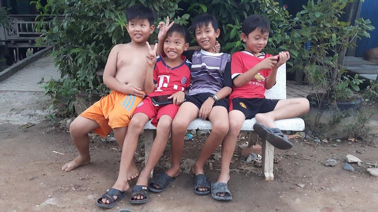 Mekong Delta locals Vietnam