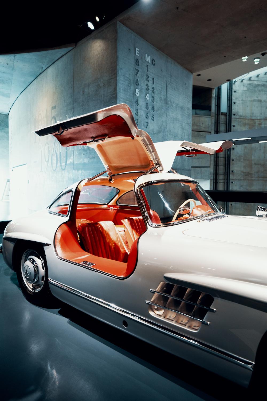 Mercedes Benz Museum auto