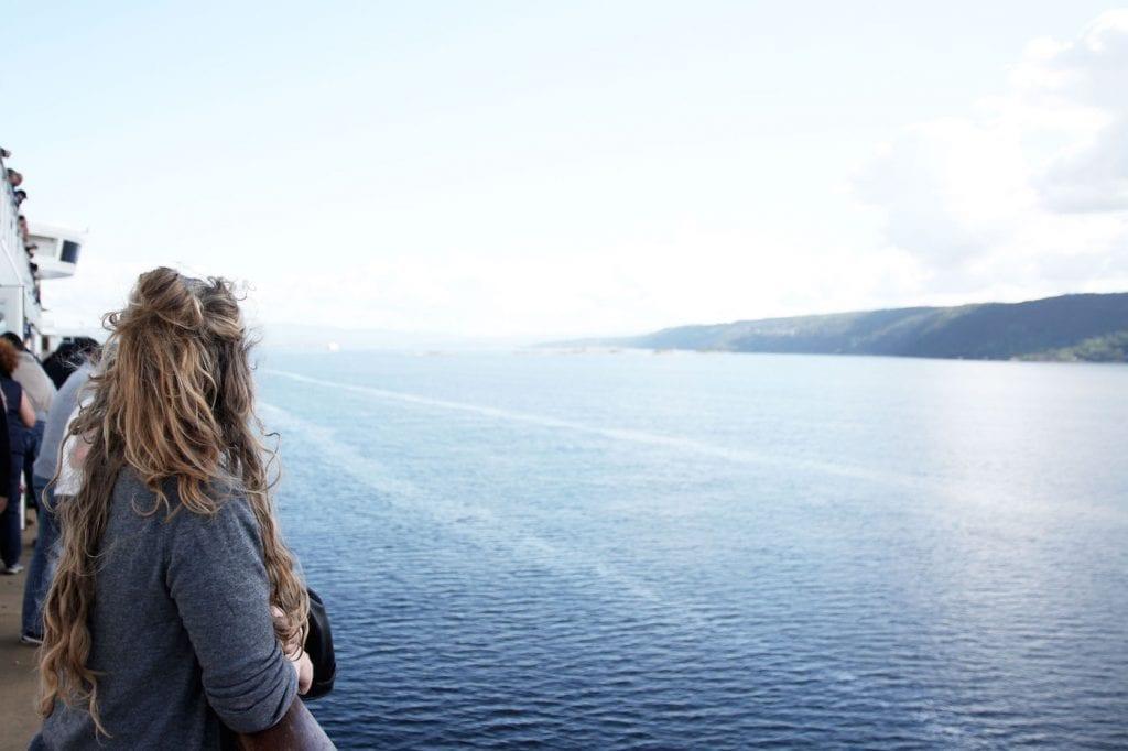 Met de auto naar noorwegen ferry color line view