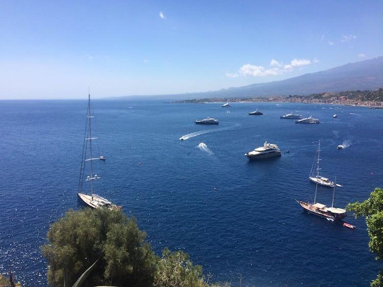 Met de camper naar sicilie Roadtrip Taormina