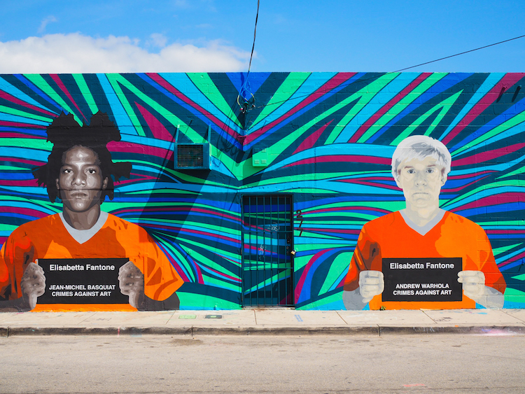 Miamy Wynwood andy warhol