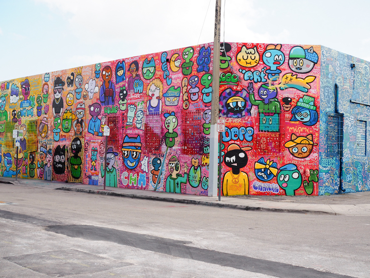 Miami wynwood art district