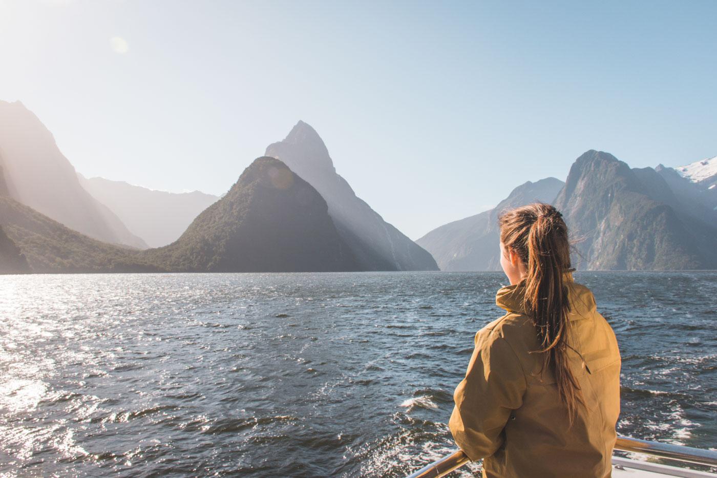 Milford Sound Cruise Nieuw Zeeland