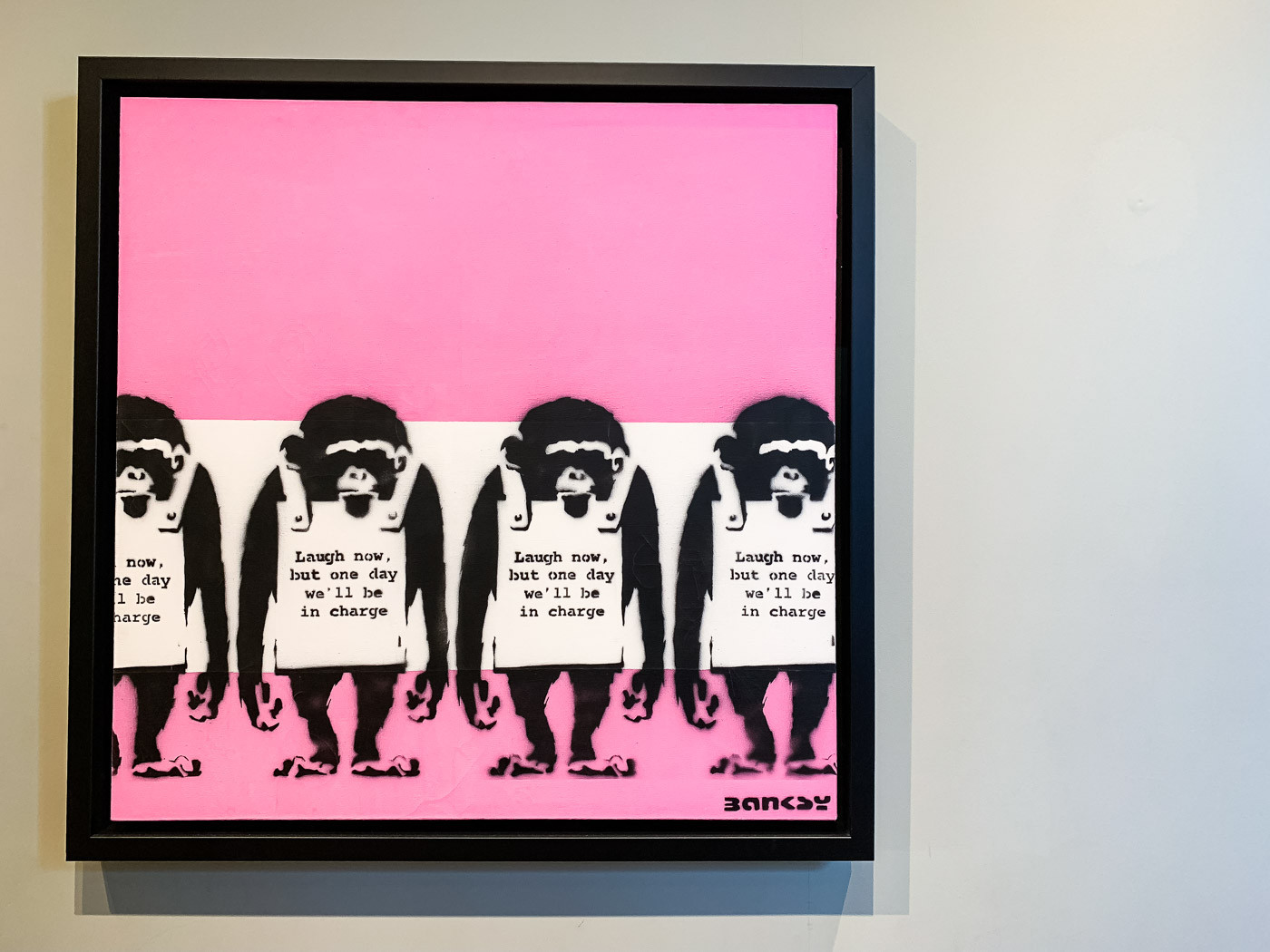 Moco Museum banksy monkeys