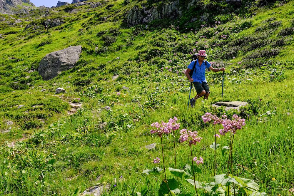 Mont Blanc wandelen hiken