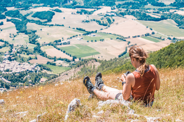 Monte Cucco uitzicht umbrie