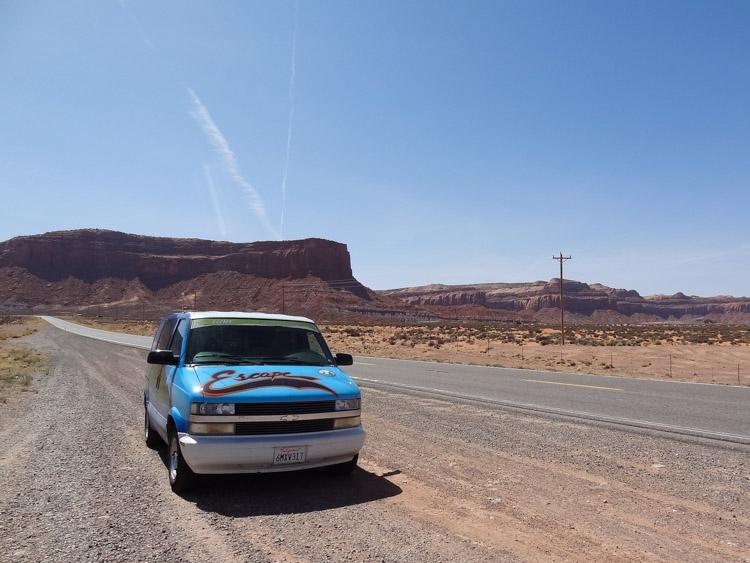 Monument Valley bezoeken roadtrip