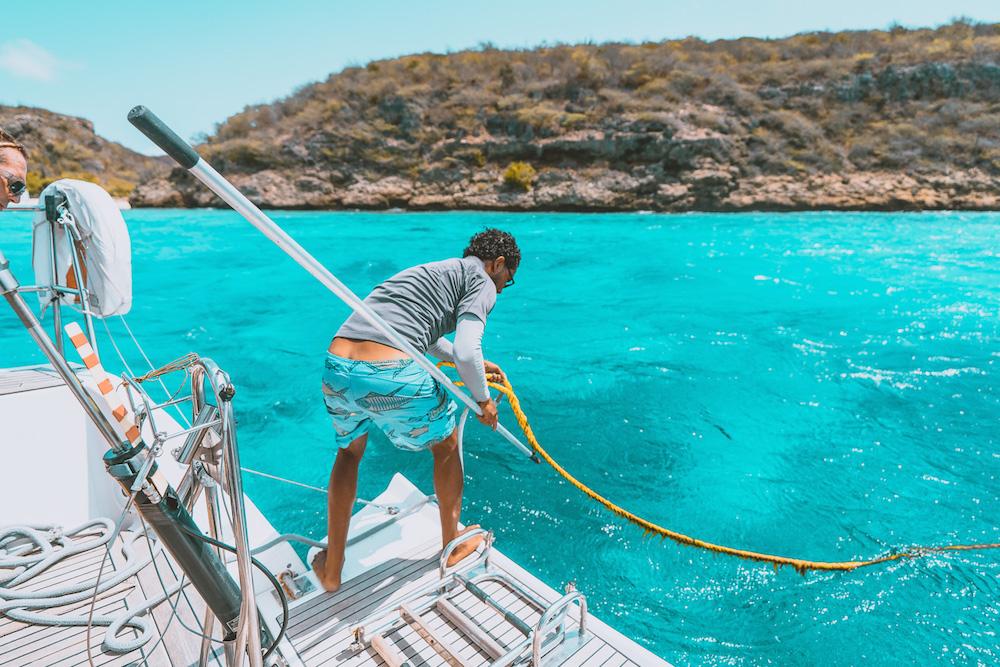Mooiste plekjes Curacao zeilen