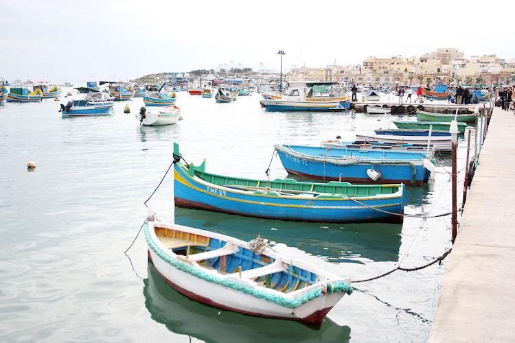 Mooiste plekjes in Malta Marsaxlokk