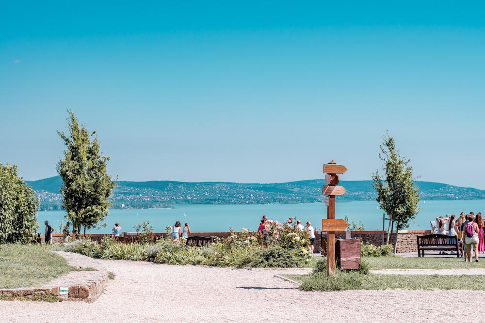 Mooiste plekken Hongarije, Tihany Balaton uitzicht
