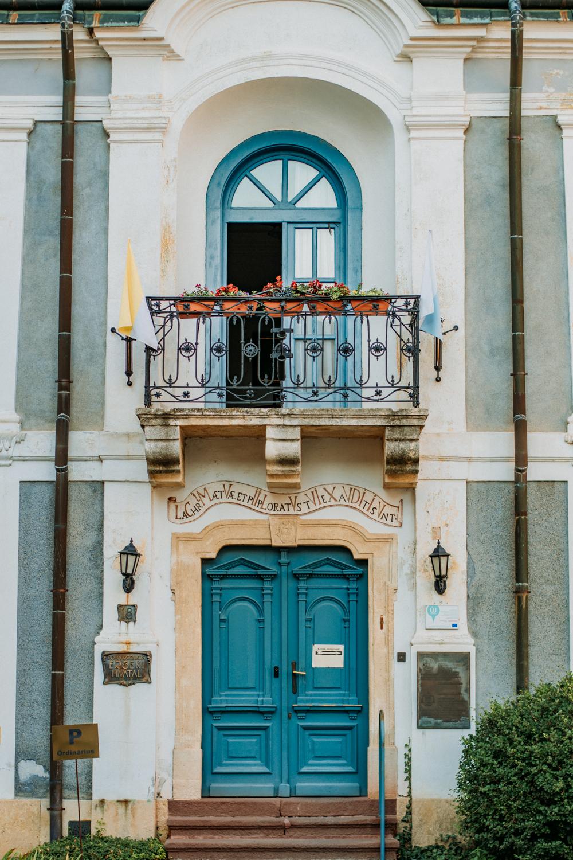 Mooiste plekken Hongarije, deur in Veszprém
