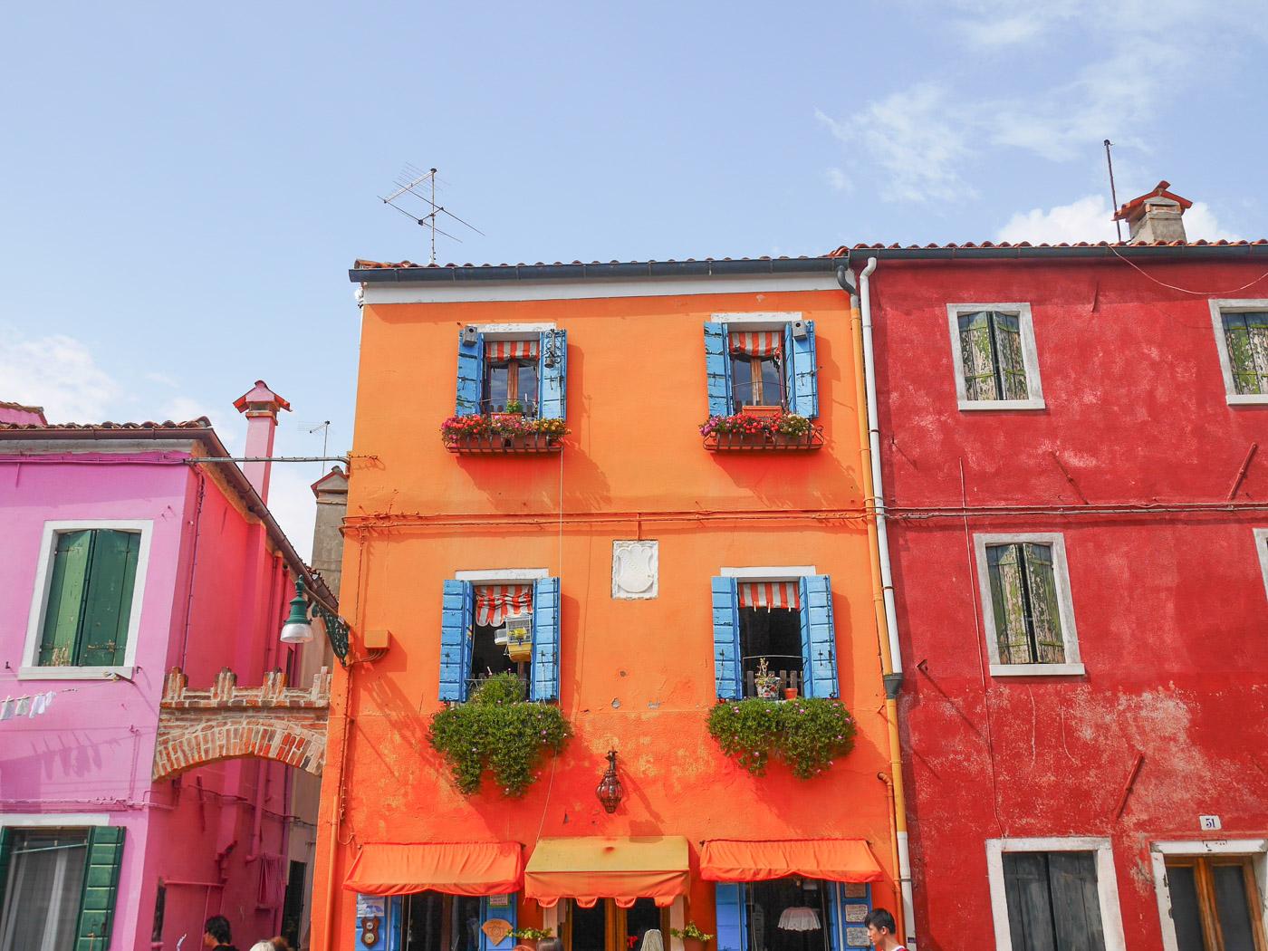 Mooiste plekken Italie burano