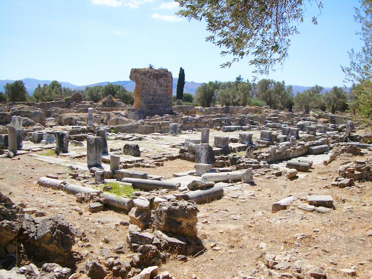 Mooiste plekken Kreta Gortyna