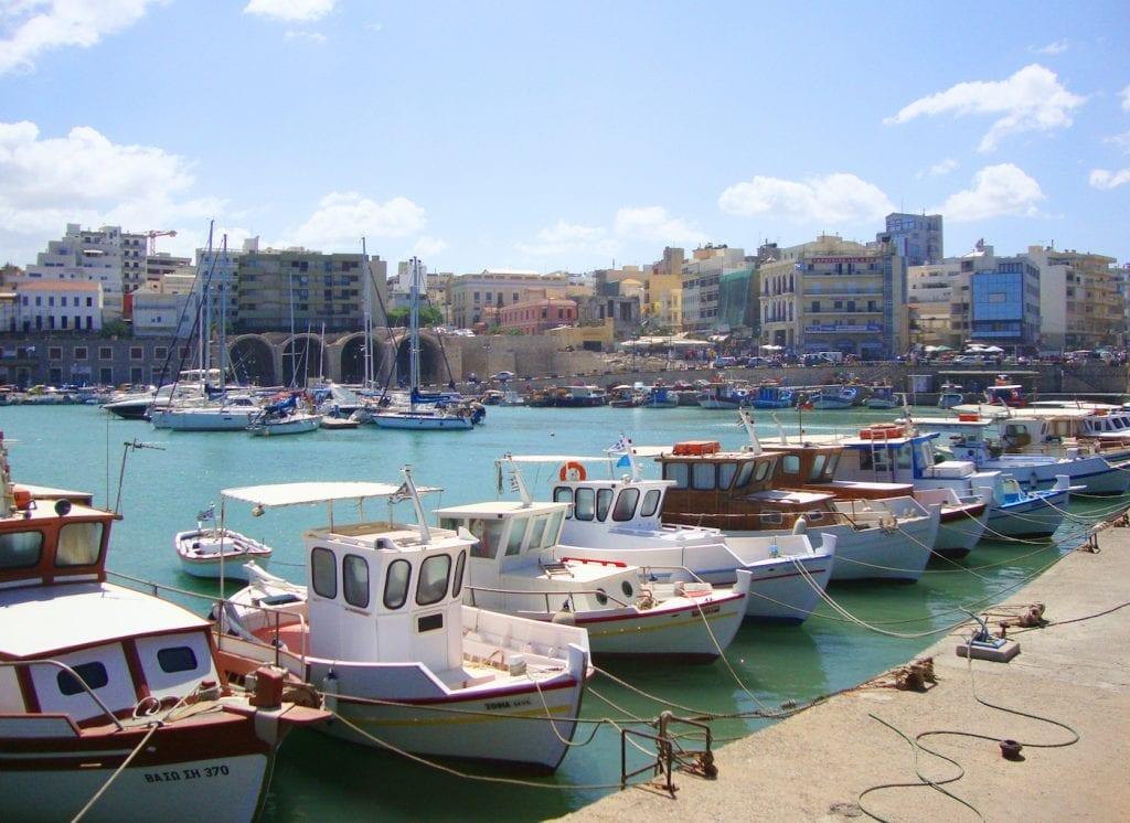 Mooiste plekken Kreta Steden Heraklion