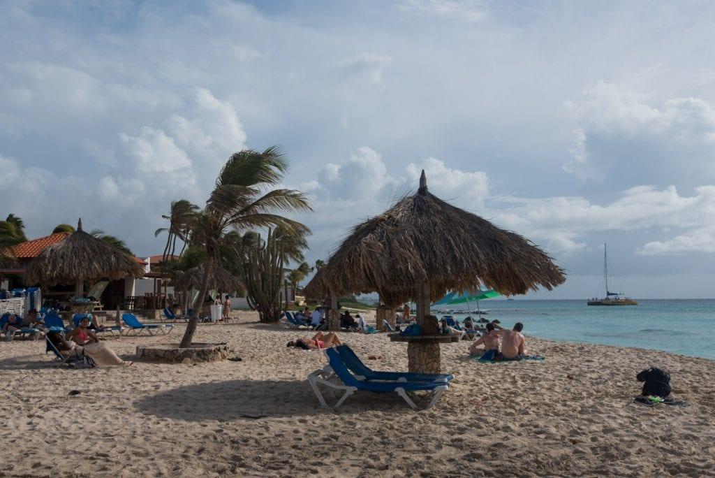 Mooiste stranden Aruba Arashi Beach