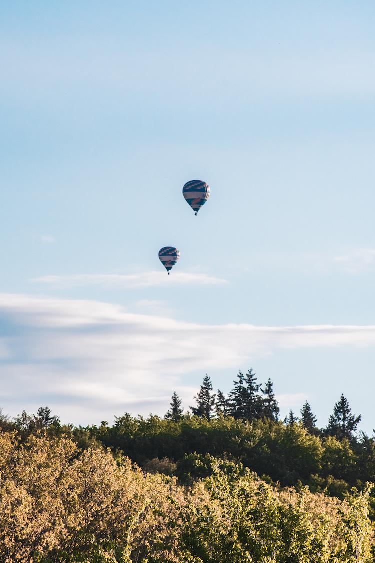 Moravie Velehrad ballonvlucht