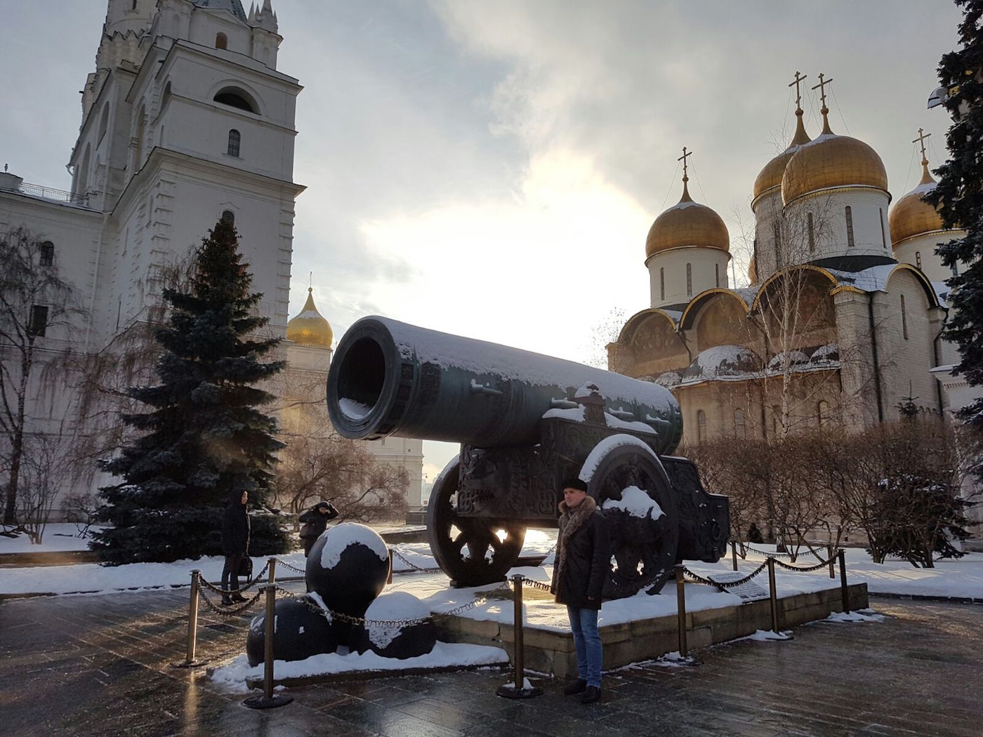 Moskou in de winter