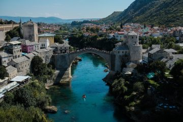 Mostar Burg Bosnie