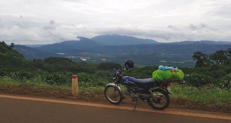 Motor kopen vietnam huren onderweg
