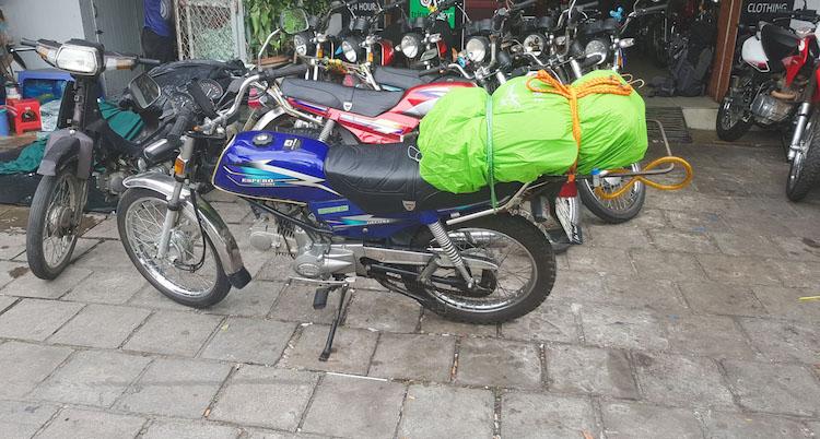 Motor kopen vietnam motor huren vietnam