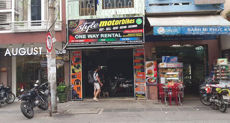Motor kopen vietnam motor huren vietnam style motorbikes