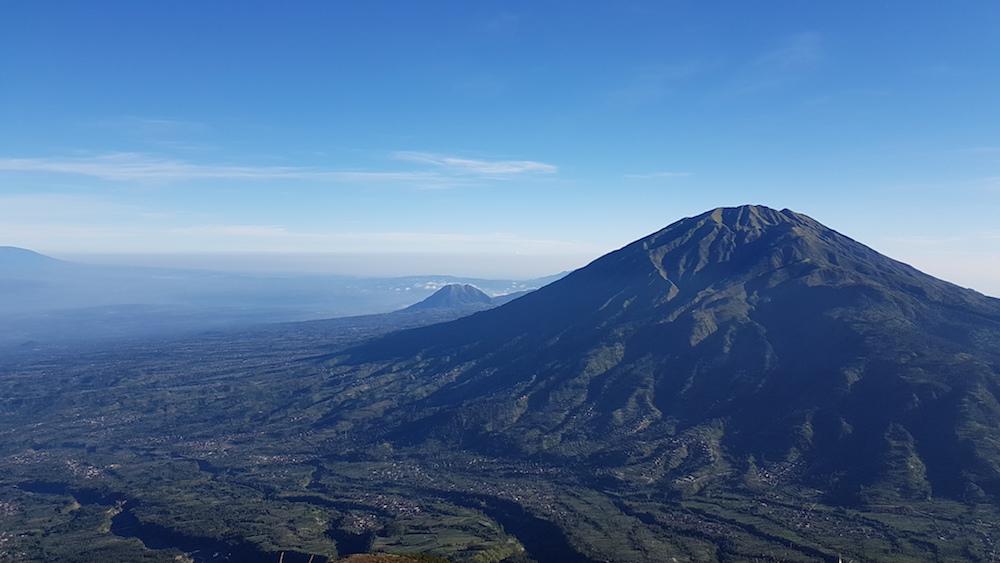 Mount Merapi vulkaan beklimmen op Java
