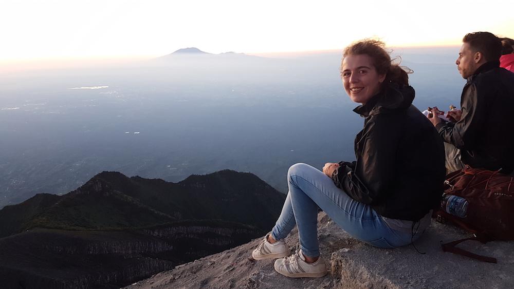 Mount Merapi zonsopgang kijken